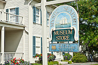 Mystic seaport Museum store, Mystic, Connecticut, CT, USA