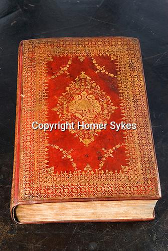 The Hatfield House, King James Bible. Hatfield, Hertfordshire UK.