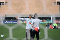 SÃO PAULO, SP, 28.08.2019 - FUTEBOL-SELEÇÃO - Pia Sundhage, treinadora da seleção brasileira de futebol feminino, durante sessão de treinamento no Estádio do Pacaembu, região central da cidade, nesta quarta-feira, 28. (Foto Charles Sholl/Brazil Photo Press/Folhapress)
