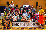26 June, 2018, Kuala Lumpur, Malaysia : Participants enjoying some fun in The Village on the second day at the Girls Not Brides Global Meeting 2018 at the Kuala Lumpur Convention Centre. Picture by Graham Crouch/Girls Not Brides