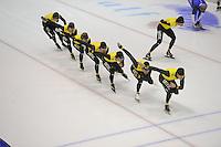 SCHAATSEN: HEERENVEEN: IJsstadion Thialf, 04-02-15, Training World Cup, Team LottoJumboNL, ©foto Martin de Jong