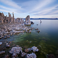 Mono Lake and Tufa formations; California
