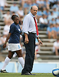 1 September 2007: North Carolina assistant coach Bill Palladino. The University of South Carolina Gamecocks defeated the University of North Carolina Tar Heels 1-0 at Fetzer Field in Chapel Hill, North Carolina in an NCAA Division I Womens Soccer game.