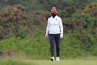 Amelia Garvey (NZL) on the 7th tee during Round 3 Matchplay of the Women's Amateur Championship at Royal County Down Golf Club in Newcastle Co. Down on Friday 14th June 2019.<br /> Picture:  Thos Caffrey / www.golffile.ie