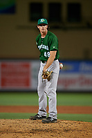 Daytona Tortugas relief pitcher Ryan Olson (48) during a Florida State League game against the Palm Beach Cardinals on April 11, 2019 at Roger Dean Stadium in Jupiter, Florida.  Palm Beach defeated Daytona 6-0.  (Mike Janes/Four Seam Images)