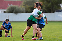 College Girls Rugby - Naenae College v Taita College at Naenae College, Lower Hutt, New Zealand on Wednesday 9 May 2018.<br /> Photo by Masanori Udagawa. <br /> www.photowellington.photoshelter.com