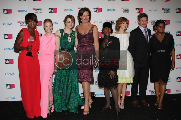 Emma Stone<br /> at the 17th Annual Critics' Choice Movie Awards, Palladium, Hollywood, CA  01-12-12<br /> David Edwards/DailyCeleb.com 818-249-4998