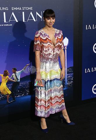 "Westwood, CA - DECEMBER 06: Jackie Cruz, At Premiere Of Lionsgate's ""La La Land"" At Mann Village Theatre, California on December 06, 2016. Credit: Faye Sadou/MediaPunch"