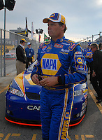 Feb 11, 2007; Daytona, FL, USA; Nascar Nextel Cup driver Michael Waltrip (55) during qualifying for the Daytona 500 at Daytona International Speedway. Mandatory Credit: Mark J. Rebilas