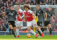 Burnley's Ashley Westwood chases down Arsenal's Matteo Guendouzi<br /> <br /> Photographer David Shipman/CameraSport<br /> <br /> The Premier League - Arsenal v Burnley - Saturday 22nd December 2018 - The Emirates - London<br /> <br /> World Copyright © 2018 CameraSport. All rights reserved. 43 Linden Ave. Countesthorpe. Leicester. England. LE8 5PG - Tel: +44 (0) 116 277 4147 - admin@camerasport.com - www.camerasport.com