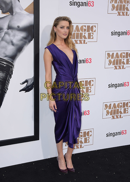 Amber Heard attends The Warner Bros. Pictures' L.A. Premiere of Magic Mike XXL held at The TCL Chinese Theatre  in Hollywood, California on June 25,2015  <br /> CAP/DVS<br /> &copy;DVS/Capital Pictures