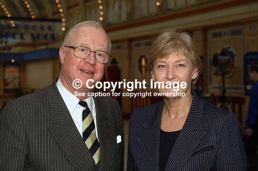 Ann Winterton, UK Conservative MP. Taken at Conservative Conference in Blackpool. Ref: 200110104259...Copyright Image from Victor Patterson, 54 Dorchester Park, Belfast, UK, BT9 6RJ..Tel: +44 28 9066 1296.Mob: +44 7802 353836.Voicemail +44 20 8816 7153.Skype: victorpattersonbelfast.Email: victorpatterson@mac.com.Email: victorpatterson@ireland.com (back-up)..IMPORTANT: If you wish to use this image or any other of my images please go to www.victorpatterson.com and click on the Terms & Conditions. Then contact me by email or phone with the reference number(s) of the image(s) concerned.