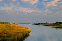 Molasses Creek and Pamlico Sound<br />