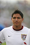 28 May 2006,  Brian Ching.The USA Mens National soccer team defeated Latvia by a score of 1-0 in an international friendly match at Rentschler Field in East Hartford, Connectiticut in their final preparationi for competition at World Cup 2006 in Germany.