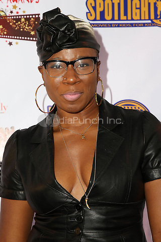 LOS ANGELES, CA - NOVEMBER 7: Aisha Hinds at the Kids In The Spotlight's Movies By Kids, For Kids Film Awards at Fox Studios in Los Angeles, California on November 7, 2015. Credit: David Edwards/MediaPunch