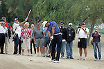 Tiger Woods (USA)  at pro-am, Omega Dubai Desert Classic