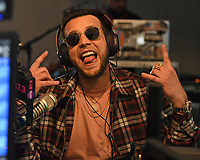 HOLLYWOOD, FL - APRIL 11: Messiah visits radio station Hits 97.3 on April 11, 2018 in Hollywood, Florida. <br /> &copy;MPI04/Capital Pictures