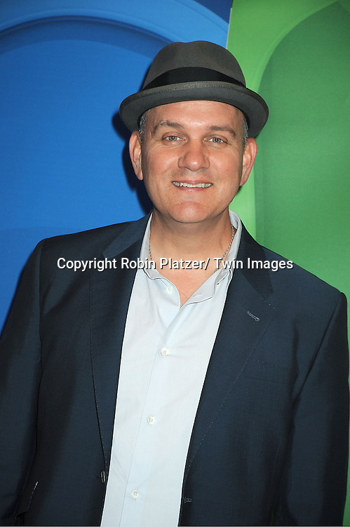 cast of Welcome to the Family  Mike O' Malley arrives at the NBC Upfront Presentation for 2013-2014 Season on May 13, 2013 at Radio City Music Hall in New York City.