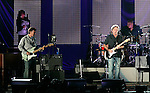 Los Angeles, CA. - June 30: Eric Clapton performs during the Eric Clapton/Steve Winwood show at the Hollywood Bowl on June 30, 2009 in Hollywood, California.
