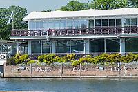 Henley on Thames. United Kingdom.   Phyllis Court Club  Grandstand, Thursday  17/05/2018<br /> <br /> [Mandatory Credit: Peter SPURRIER:Intersport Images]<br /> <br /> LEICA CAMERA AG  LEICA Q (Typ 116)  f5  1/1000sec  35mm  42.5MB