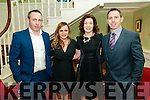 Clounmacon GAA Social: Attending the Clounmacon GAA social on Friday night last at the Listowel Arms Hotel were Sean OMahony, Deborah O'Flaherty & Elaine & Kieran O'Mahony..