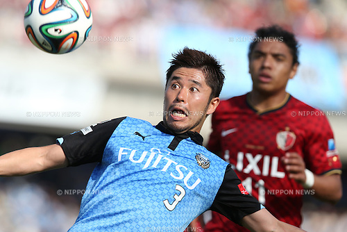 Yusuke Tanaka (Frontale), <br /> MAY 10, 2014 - Football /Soccer : <br /> 2014 J.LEAGUE Division 1 <br /> between Kawasaki Frontale 4-1 Kashima Antlers <br /> at Kawasaki Todoroki Stadium, Kanagawa, Japan. <br /> (Photo by AFLO SPORT) [1205]