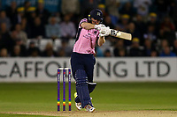 Eoin Morgan in batting action for Middlesex during Essex Eagles vs Middlesex, NatWest T20 Blast Cricket at The Cloudfm County Ground on 11th August 2017