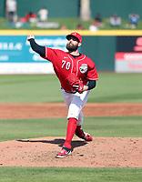 Teejay Antone - Cincinnati Reds 2020 spring training (Bill Mitchell)