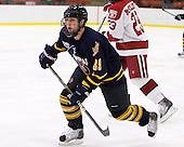 Clay Harvey (Quinnipiac - 39) - The visiting Quinnipiac University Bobcats defeated the Harvard University Crimson 3-1 on Wednesday, December 8, 2010, at Bright Hockey Center in Cambridge, Massachusetts.