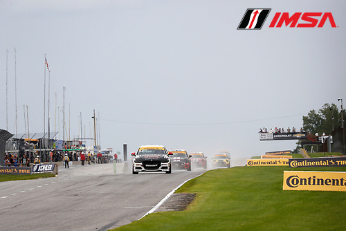 IMSA Continental Tire SportsCar Challenge<br /> Road America 120<br /> Road America, Elkhart Lake, WI USA<br /> Saturday 5 August 2017<br /> 84, BMW, BMW 328i, ST, James Clay, Tyler Cooke start<br /> World Copyright: Michael L. Levitt<br /> LAT Images