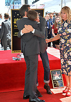 """LOS ANGELES, CA. September 13, 2018: Eric McCormack, Finnigan McCormack & Janet Holden at the Hollywood Walk of Fame Star Ceremony honoring """"Will & Grace"""" star Eric McCormack."""