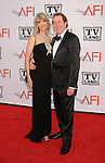 CULVER CITY, CA. - June 10: Eric Idle (R) and wife Tania Kosevich  arrive at the 38th Annual Lifetime Achievement Award Honoring Mike Nichols held at Sony Pictures Studios on June 10, 2010 in Culver City, California.