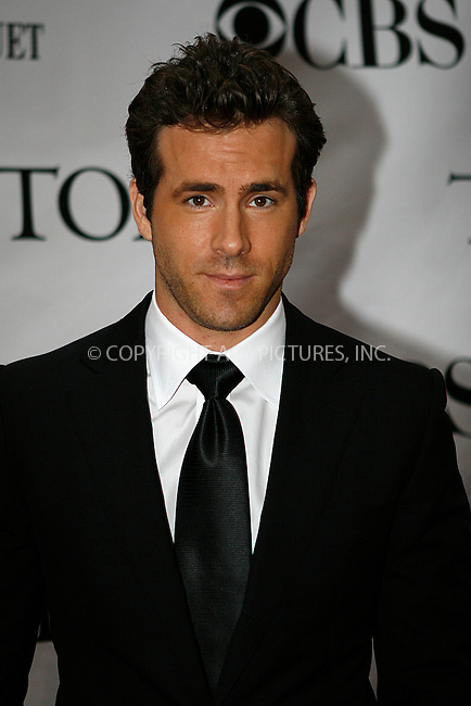 WWW.ACEPIXS.COM . . . . .  ....June 13 2010, New York City....Ryan Reynolds arriving at the 64th Annual Tony Awards at Radio City Music Hall on June 13, 2010 in New York City. ....Please byline: NANCY RIVERA- ACEPIXS.COM.... *** ***..Ace Pictures, Inc:  ..Tel: 646 769 0430..e-mail: info@acepixs.com..web: http://www.acepixs.com