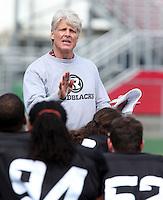 Mark Nelson Ottawa RedBlacks coach 2014. Photo Scott Grant