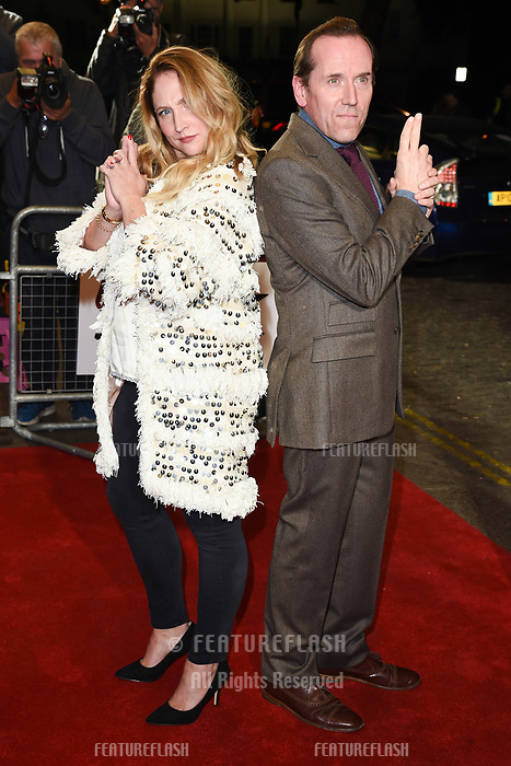 LONDON, UK. October 03, 2018: Ben Miller &amp; Jessica Parker at the premiere of &quot;Johnny English Strikes Again&quot; at the Curzon Mayfair, London.<br /> Picture: Steve Vas/Featureflash