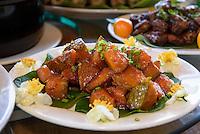 Restaurant, Jianfeng Ling-Berge bei Sanya auf der Insel Hainan, China<br /> Restaurant, Jianfeng Ling-mountains near Sanya,  Hainan island, China