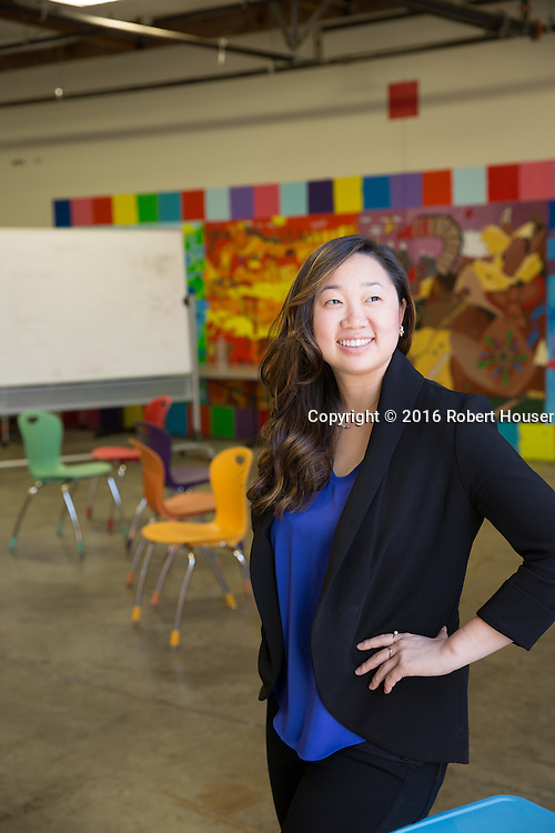 Portrait of Lizzie Choi - Director - Summit Basecamp