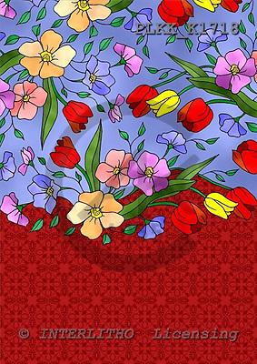 Kris, FLOWERS, paintings, PLKKK1718,#f# Blumen, flores, illustrations, pinturas ,everyday