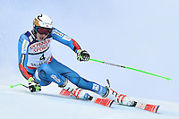 February 17, 2017: Henrik KRISTOFFERSEN (NOR) competing in the men's giant slalom event at the FIS Alpine World Ski Championships at St Moritz, Switzerland. Photo Sydney Low