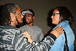 MIAMI BEACH, FL - NOVEMBER 20: TJ Chapman and B.O.B real name Bobby Ray Simmons, Jr. attends his PRIVATE #UndergroundLuxury Listening Session at Haven on November 20, 2013 in Miami Beach, Florida. (Photo by Johnny Louis/jlnphotography.com)