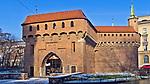 Barbakan w Krakowie, Polska