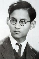 Bhumibol in 1945.