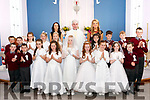 Children from Mountcollins & Tournafulla received their First Holy Communion last Saturday in Our Lady of the Assumption Church in Mountcollins. The cremony was officiated by Fr. Denis Mullane with teachers Mairead Lane & Brid O' Rourke.