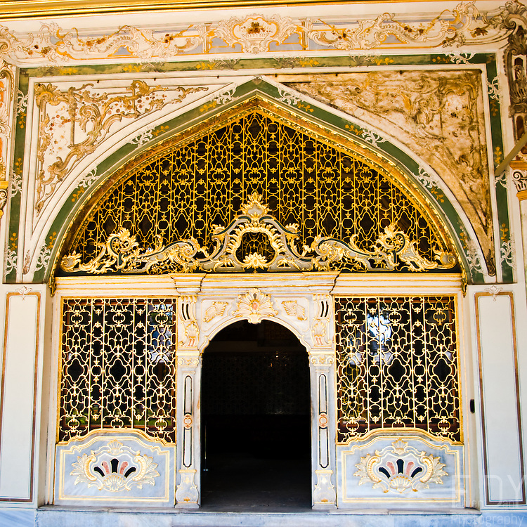 Door to the Divan at Topkapi palace, Istanbul