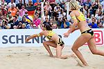 26.08.2017, Hamburg, Stadion Am Rothenbaum<br />Beachvolleyball, World Tour Finals<br /><br />Annahme Kira Walkenhorst (#2 GER)<br /><br />  Foto © nordphoto / Kurth
