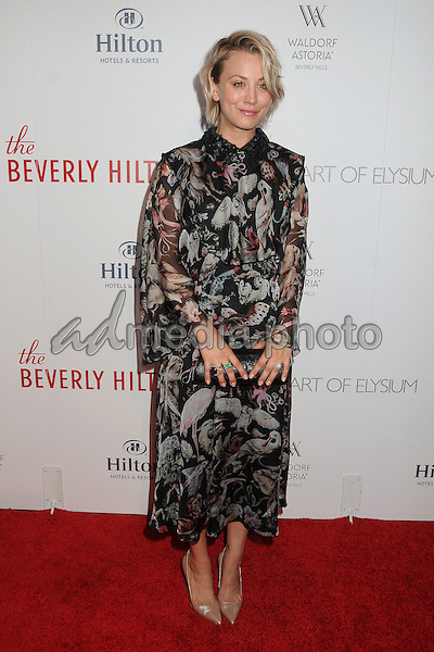 21 August 2015 - Beverly Hills, California - Kaley Cuoco. The Beverly Hilton 60th Anniversary Party held at The Beverly Hilton Hotel. Photo Credit: Byron Purvis/AdMedia