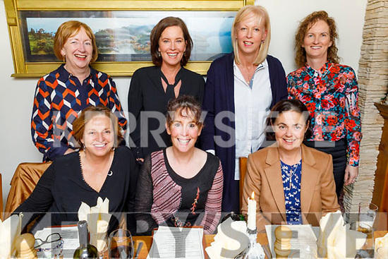 Enjoying the evening in Bella Bia on Friday.<br /> Seated l to r: Sheila and Mags O'Sullivan and Janet Giles.<br /> Back l to r: Norma Leahy, Barbara O'Sullivan, Aileen O'Carroll and Juliet O'Connor.