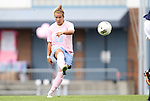 25 September 2011: North Carolina's Amber Brooks. The University of Virginia Cavaliers defeated the University of North Carolina Tar Heels 1-0 in overtime at Fetzer Field in Chapel Hill, North Carolina in an NCAA Division I Women's Soccer game. UNC players wore special pink jerseys for the game to be auctioned off as part of a fundraiser for the UNC Lineberger Comprehensive Cancer Center.