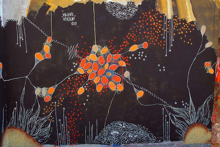 Street Art-Graffittis.<br /> Carrer Agricultura.<br /> Barcelona-Poblenou (Sant Marti).
