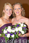 Bridesmaids at the wedding of Irene Enright and Steve Passway on Saturday were Cecelia Brickley (sister of the bride) and Annette Enright (cousin of the bride).   Copyright Kerry's Eye 2008